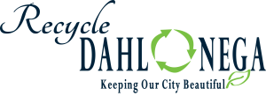 Recycle Dahlonega Keeping Our City Beautiful Logo